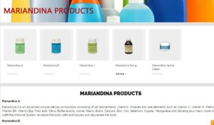 mariandina-products