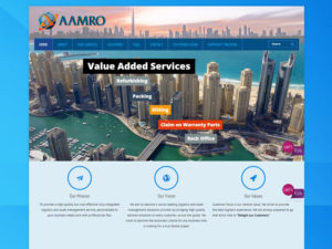 amro-llc-website-design