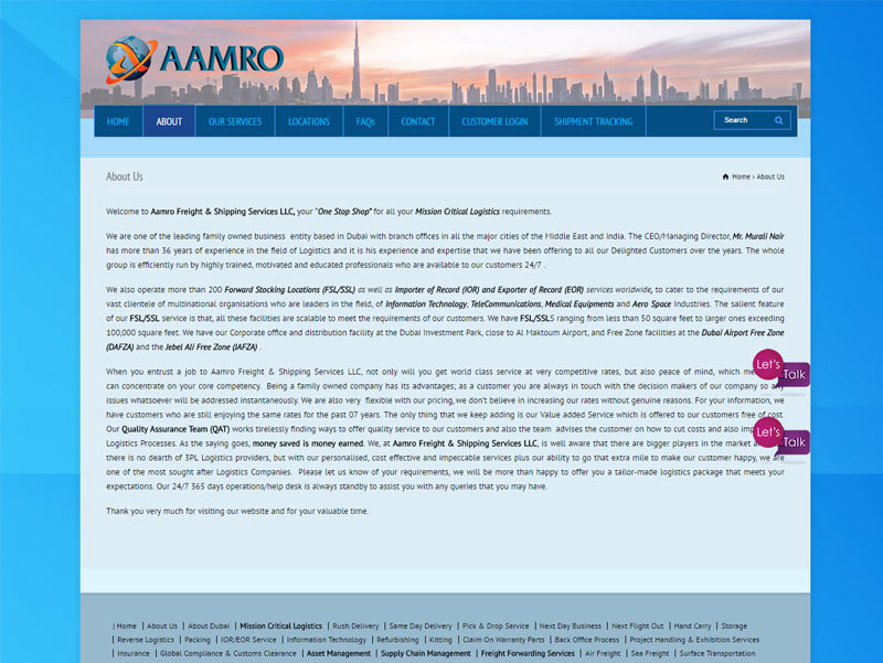 amro-website-design